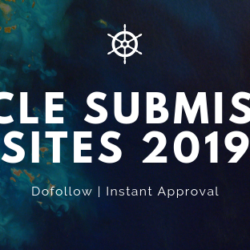 Checkout our collection of Article Submission sites 2019