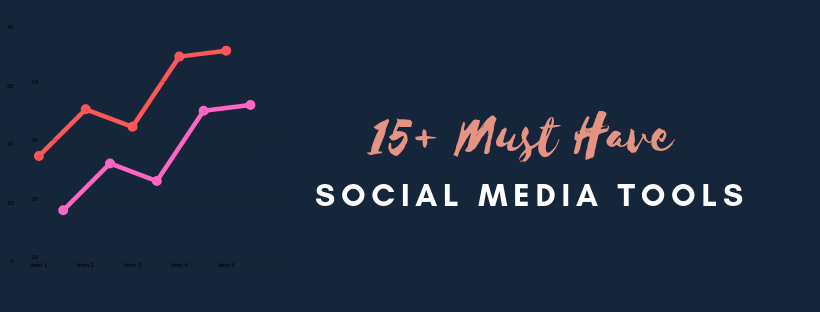 15 Must Have Social Media Tools to Grow your business