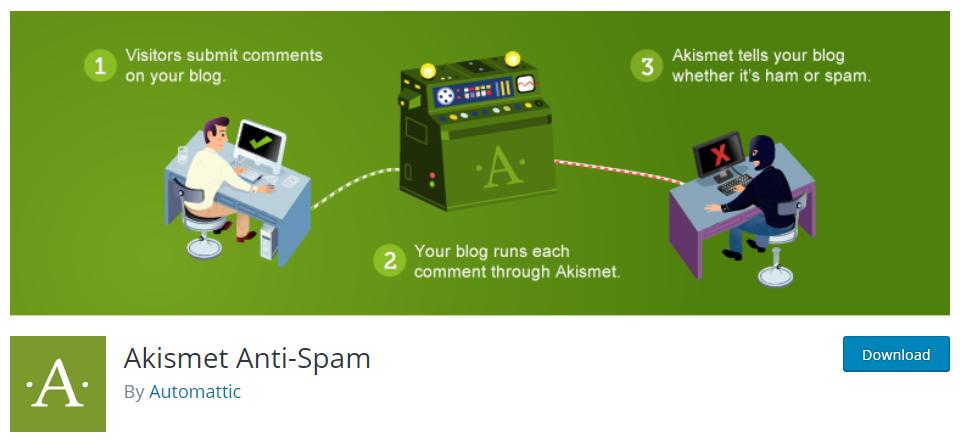Akismet Anti Spam - WordPress Plugin