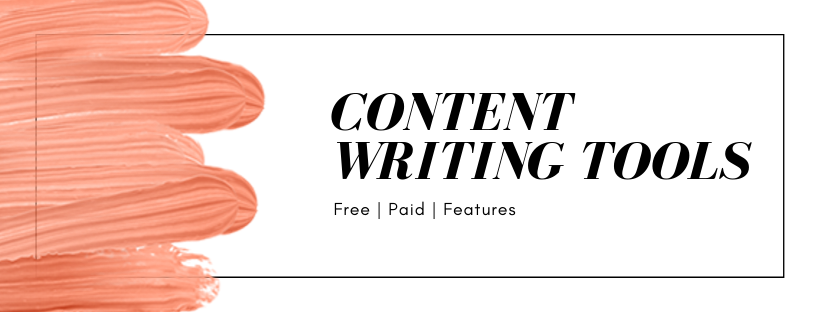 Free Content Writing Tools - Blog Posting tools