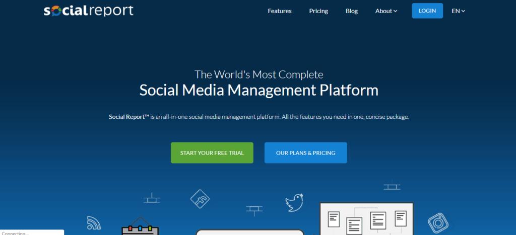 Social report-Best Social Media Tool