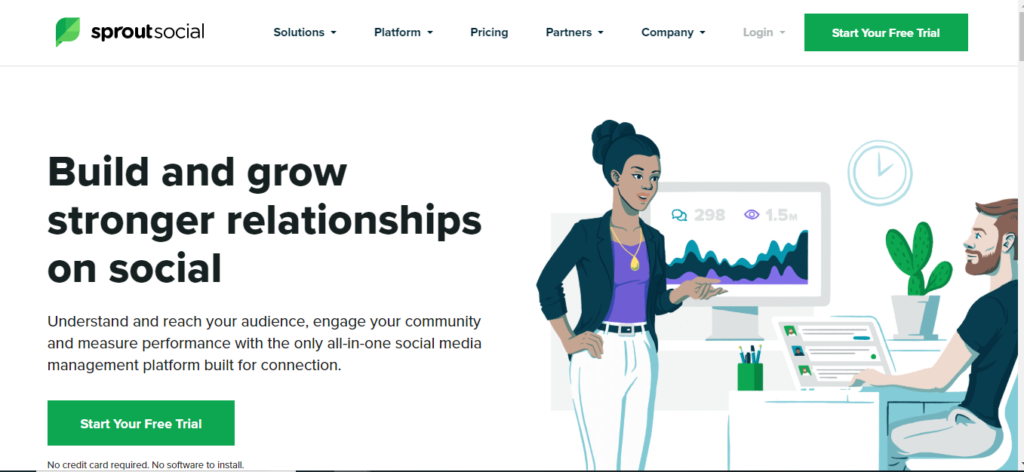 Sprout Social - Free SEO Tool