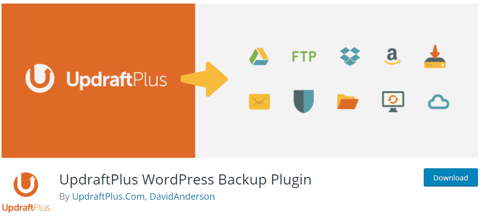 UpdraftPlus - WordPress PLugin