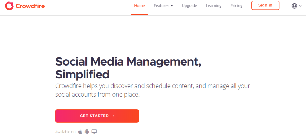 Crowdfire - Must Have Social Media Tool