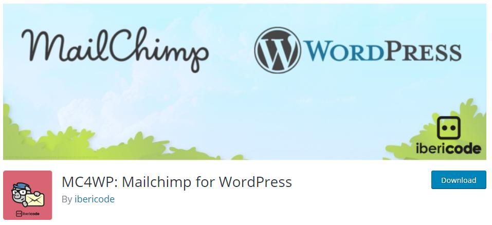 MailChimp - Must Have WordPress Plugins