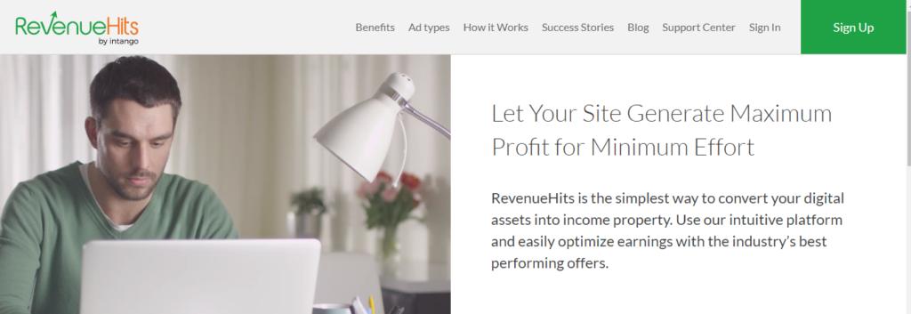 Revenue-hits-google-adsense-alternative