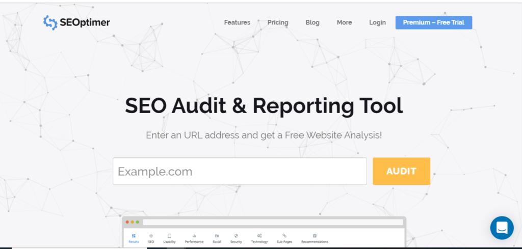 SEOoptimer - Free SEO Audit Tool