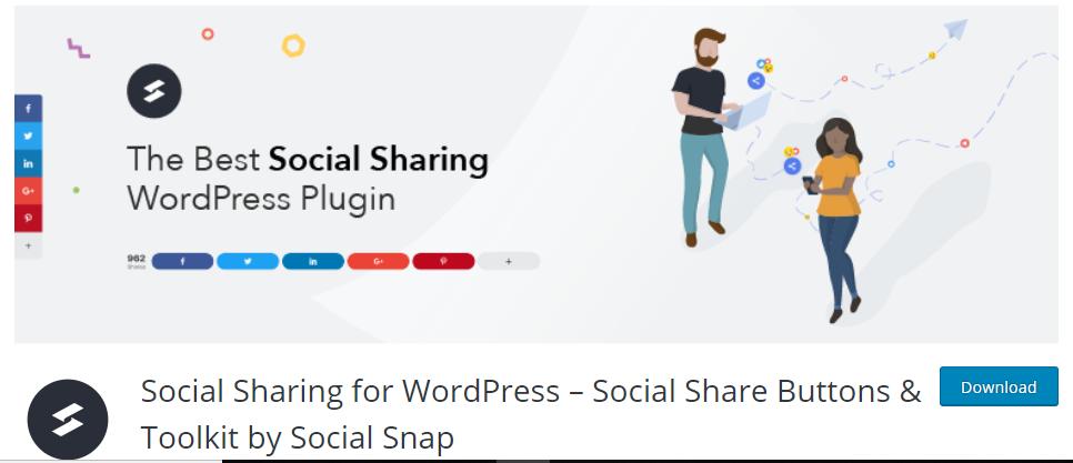 Social Snap - WordPress Plugin