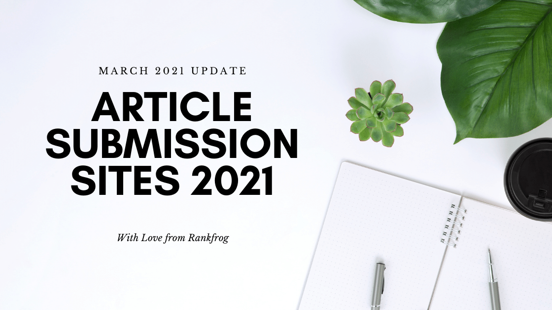 Article Submission sites 2021