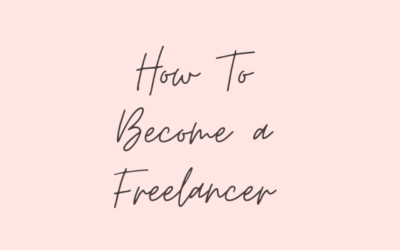 How to Become a Freelancer?