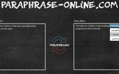 5 Free Paraphrasing Tools to make your content 100% unique